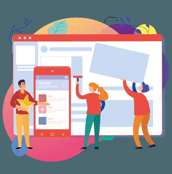 responsive website development urgent care small business